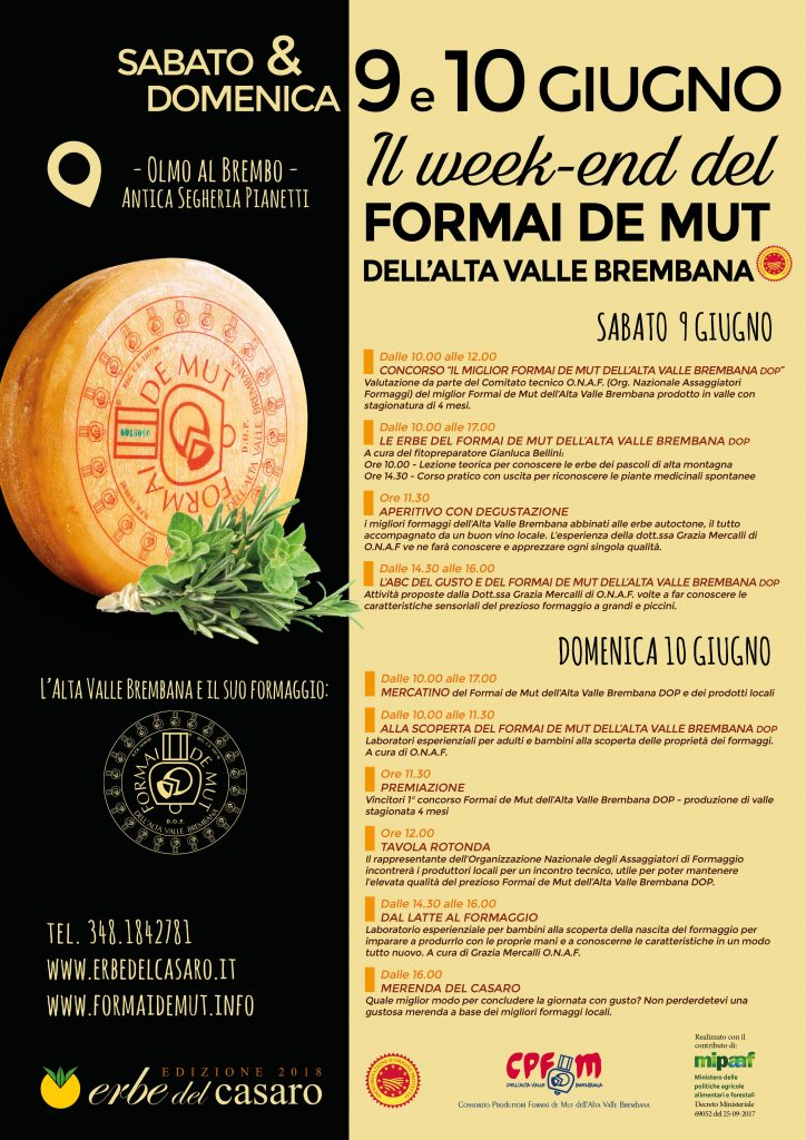 weekend del formai de mut